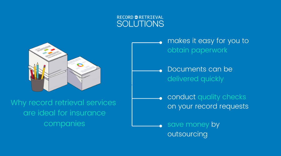 Why record retrieval services are ideal for insurance companies