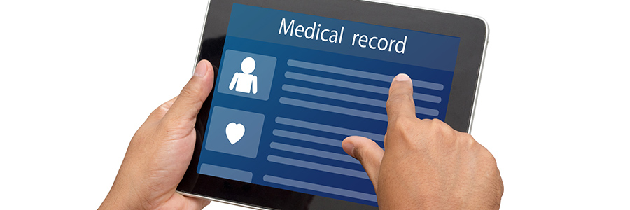 Why should your record retrieval provider's record portal be HIPAA-compliant?